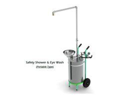 Safety Shower & Eye Wash (Portable Type)